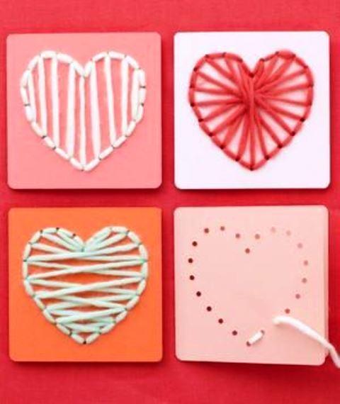 Δημιουργήστε χειροποίητες κάρτες για του Αγίου Βαλεντίνου 8